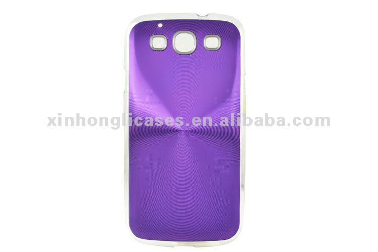 Mobile phone accessories for Samsung galaxy S3 aluminum case cover