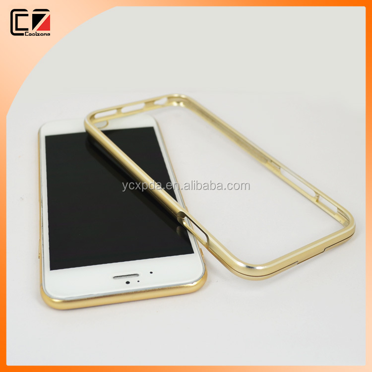 Luxury metal aluminum bumper case for iphone 6s, aluminum case for iphone 6s