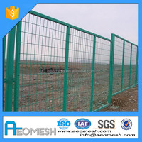metal fence factory / edge protective fence / roll top fencing