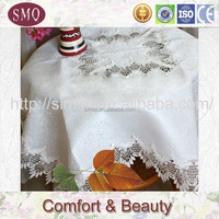 embroidery with lace tablerunner jute table handicrafts made of abaca
