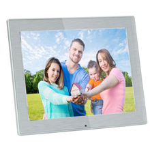 9.7 inch slim battery supported digital photo frame