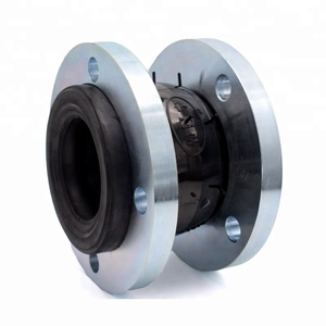 Epdm rubber bellows flexible pipe joint coupling with floating flange