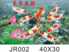 Hotsale 40*30cm 3D lenticular picture for decoration