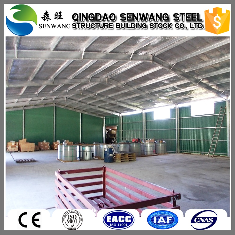 Chinese new product steel frame warehouse