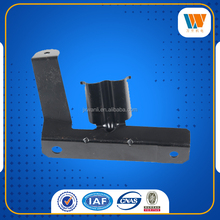 stamping bracket black painted metal parts for auto