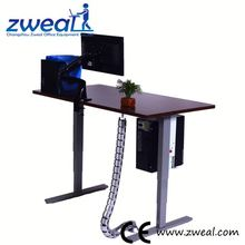 angle height adjustable rolling laptop desk factory wholesale