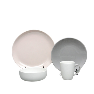 Good appearance advanced design best quality durable fine porcelain dinner set