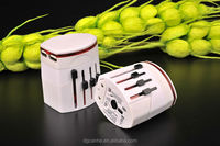 Universal travel adapter for electronic gift ideas&bank product