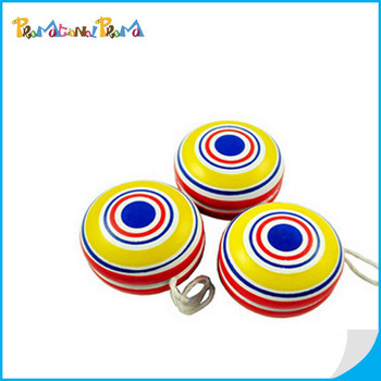 Funny wooden yoyo ball wholesale in stock item