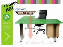 computer table office supply L shape products in dubai indonesia style furniture