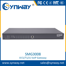 Economic and Efficient e1 t1 gsm voip gateway With CE certificates