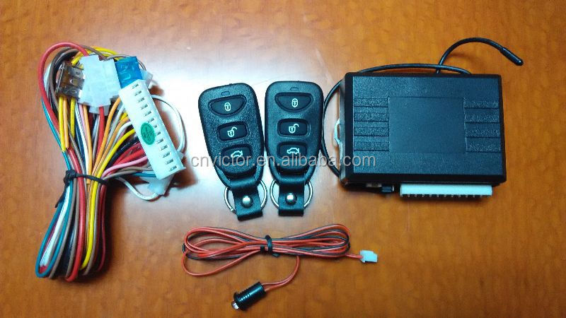 Cheaper dust-proof keyless entry system