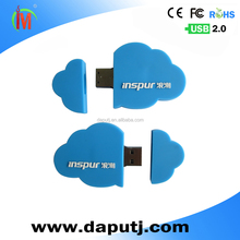 high cycle life cloud shape usb flash drive 8gb usb pen drive unique design usb pen drive