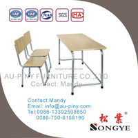 (m1)Cheap school furniture/desk and chair for sales,Double seater