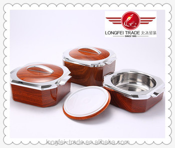 3 PCS Set New Design plastic heat preservation lunch box