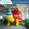 Hot animal bouncer inflatable , turtle commercial inflatable bouncer