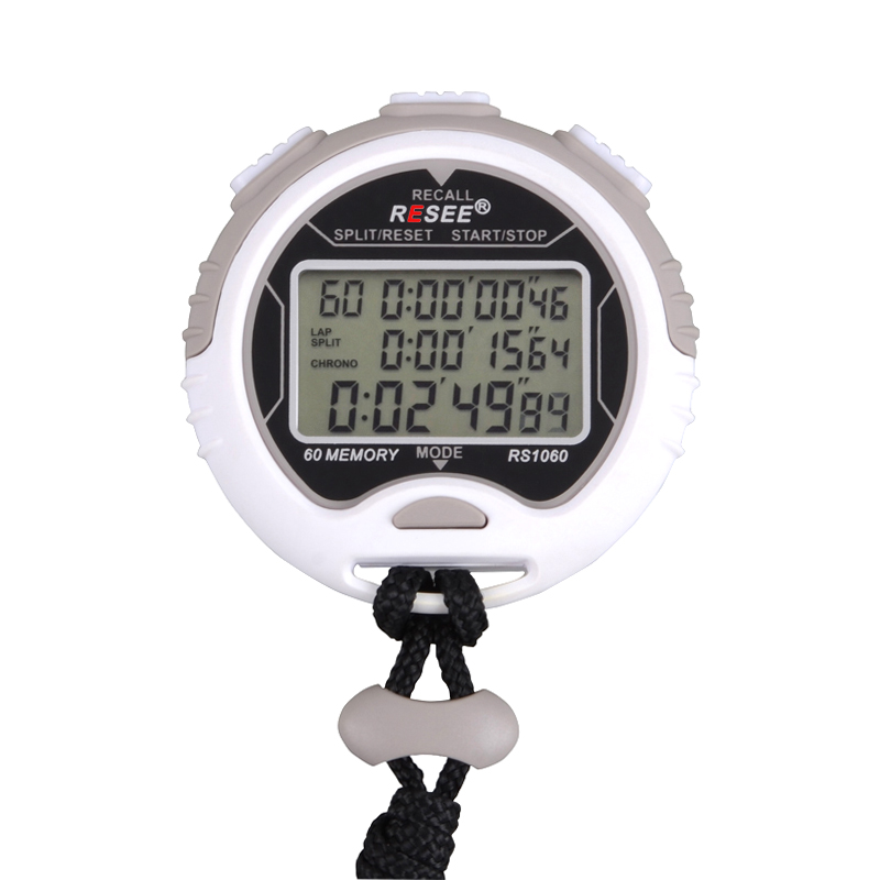 precision 60 lap memory professional q q digital stopwatch