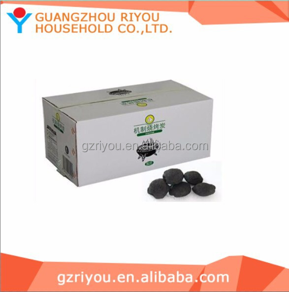 Briquette Shape and and Barbecue (BBQ) Application WOOD CHARCOAL with top grade