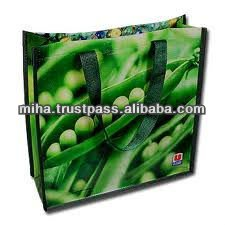 2016 Reusable laminated pp woven big shopping bag made in Vietnam export worldwide