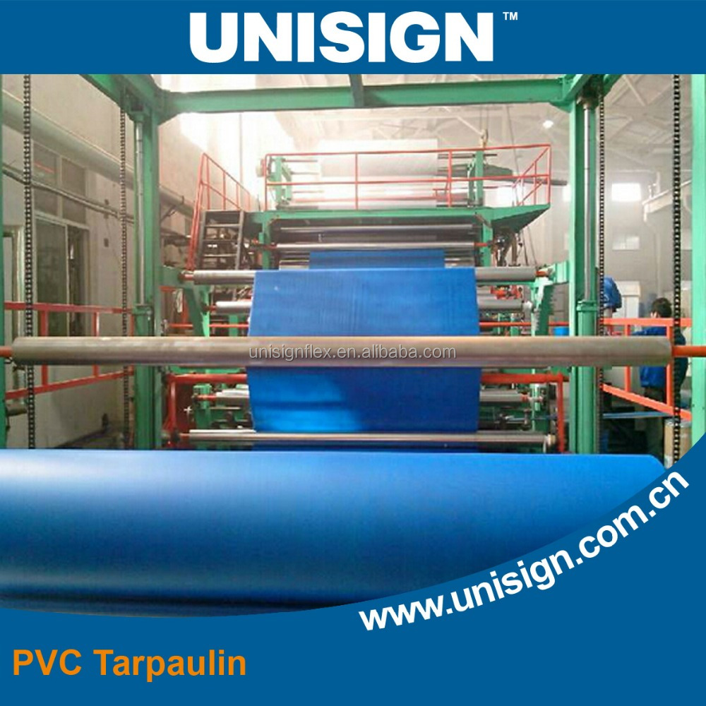 Waterproof and B1 fire retardant PVC Tarpaulin
