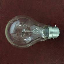 CE clear Incandescent lamps PS60 100W B22 incandescent light bulb