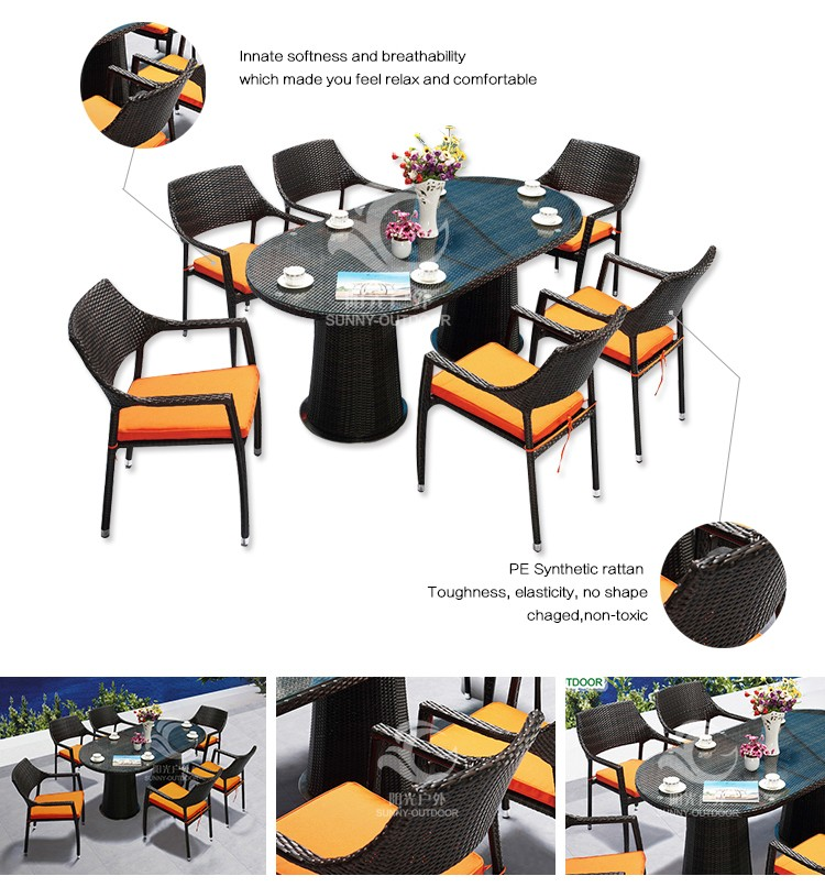 Wholesale High Quality Rattan Wicker Garden Treasures Furniture Outdoor