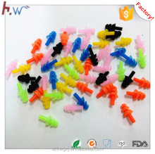 Swimming silicone ear plugs with string