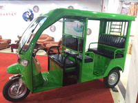 YF-Q1 electrical rickshaw for passenger with big windsheild