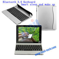 Smart Sleep and Wake Up Magnetic Side Flip Bluetooth 3.0 Keyboard for Apple Tablet iPad