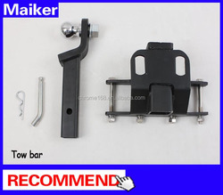 Maiker Hitch Receiver Kit Rear Retractor Tow bar for Jeep wrangler JK 07+