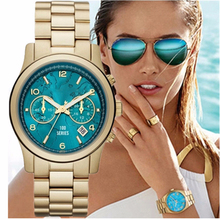 NEW !2015 Michael Fashion casual Silica Gel USA Famous Brands Luxury Women Watch korses Quartz Watch k gold wristwatch 3059
