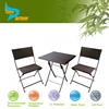 Rattan Bistro Folding Patio Garden Dining