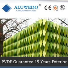 4mm PVDF ACP Aluminium Composite Cladding Panels