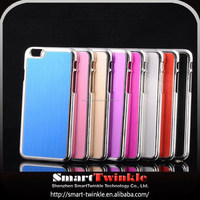 High Quality brushed chrome custom waterproof cell phone case