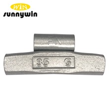 SunnyWin Fe 5-60g For Alloy Rim Clip On Wheel Balance Weights