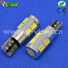 New error fee T10 10 led smd 5630 led light canbus auto car led back up reverse brake light