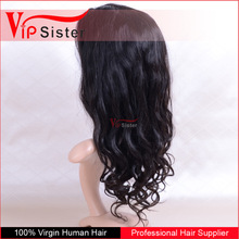 no acid real human front lace hair wig natural color 1b lace frontals top closure piece wigs