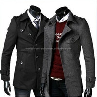 Spring And Winter Coat New Men