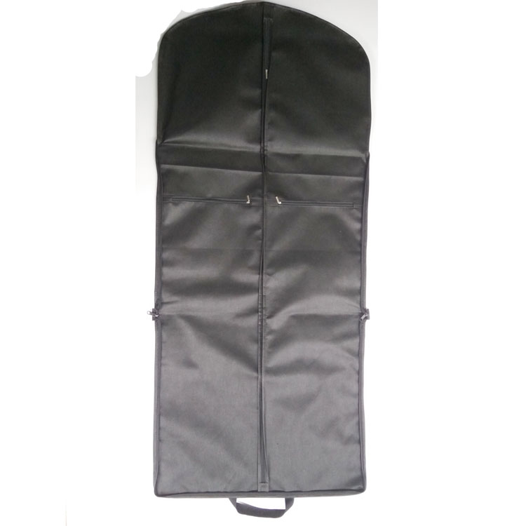 "53"" Long Suitsupply Garment Bag Travel Storage Foldable Carry on Suit with Zipper Bags"