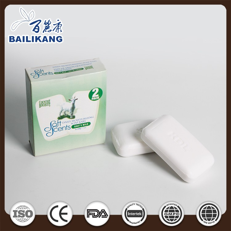 Promotion disposable cheap bar soap import toilet soap