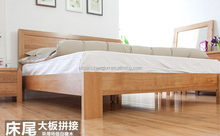 New style cheapest wooden bed furniture for heavy people