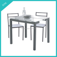 Indian style cheap extendable dining table and chair