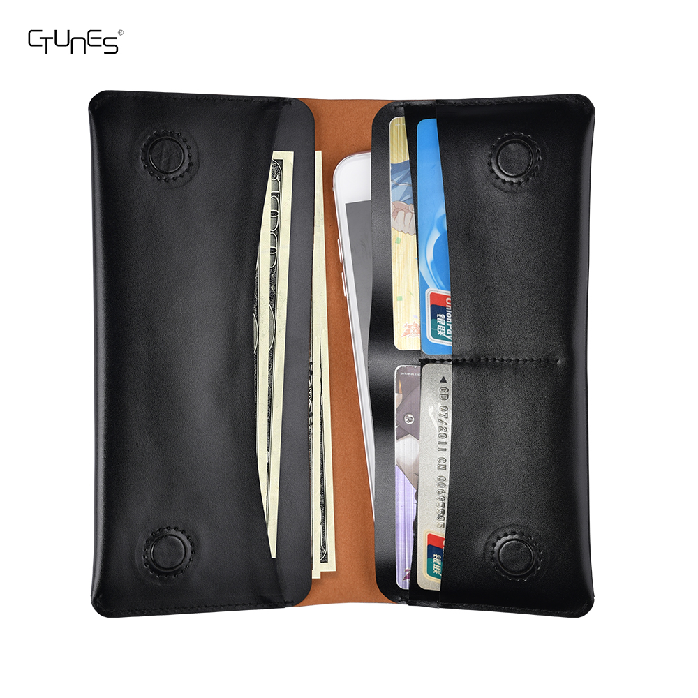 Leather Wallet Case For iphone 8 plus,Handmade Magnetic Cash ID Cards Holder Flip Pouch Handbag for iphone 8 plus