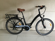 High Quality 700C 250W bafang Mid Drive Motor city lady Electric Bike electric bicycle