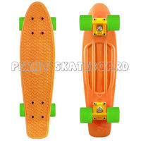 Colorful good selling skateboards with 4 wheels