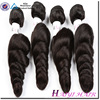 Alibaba Express Wholesale Hair Thick Ends Double Weft Loose Wave Brazilian Hair Extension