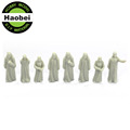 1:25~1:200 architectural scale model resin figures