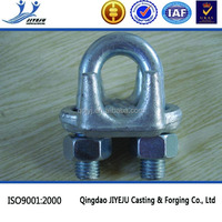 Metal forged galvanized wire rope clip