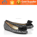 2015 beautiful ladies crocodile slip-on flat shoes