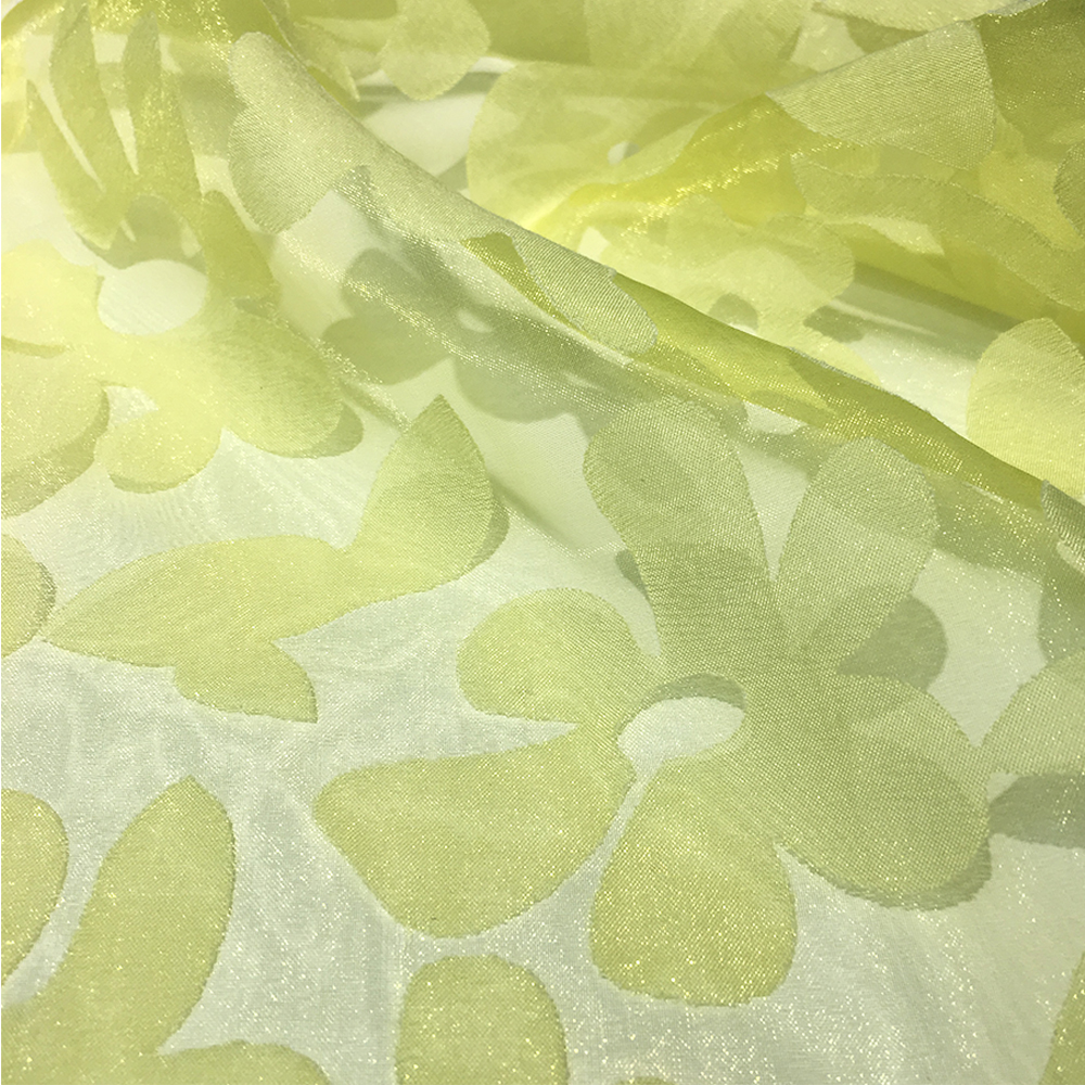 Fashion Burnt-out Polyester Chiffon Fabric